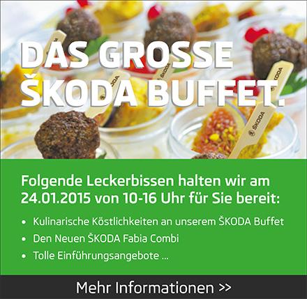 Das grosse Skoda Buffet