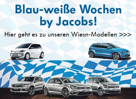 Blau-weiße Wochen bei Jacobs - Die Wiesn Modelle